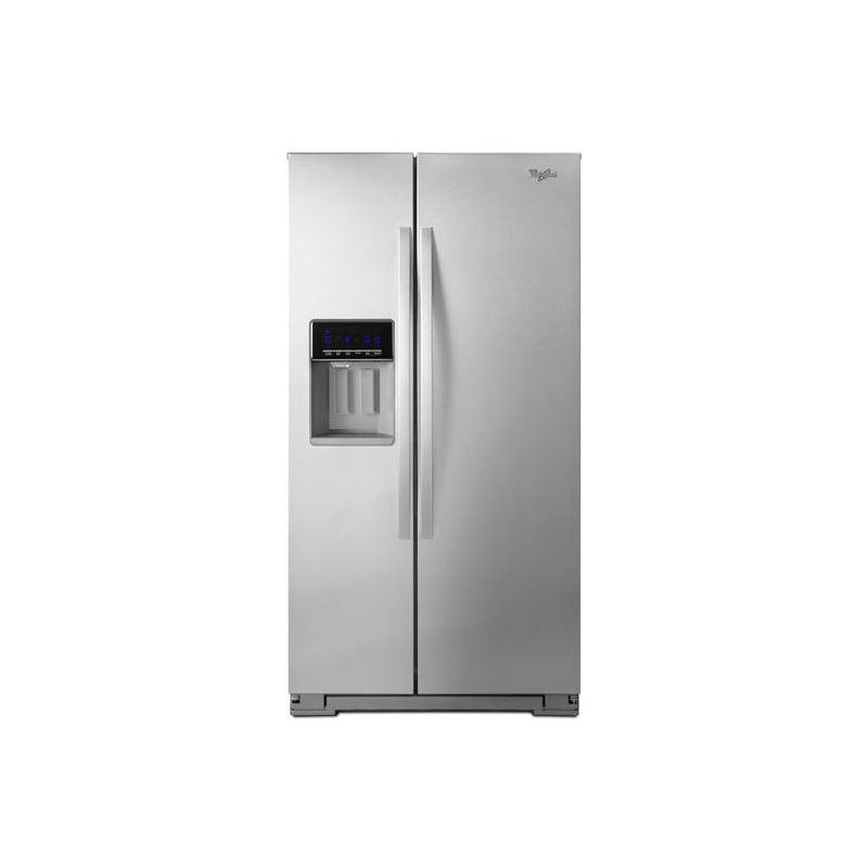 Whirlpool WRS586FIE 36 Inch Wide 25.6 Cu. Ft. Side By Side Refrigerator with Acc photo