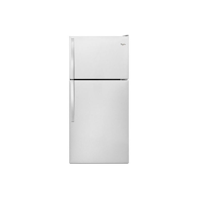 Whirlpool WRT138FZD 30 Inch Wide 18.2 Cu. Ft. Top Mount Refrigerator with Electr photo
