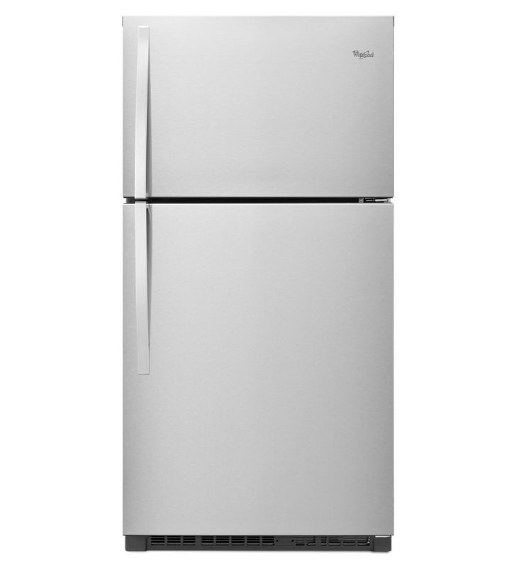 Whirlpool WRT511SZD 33 Inch Wide 21 Cu. Ft. Top Mount Refrigerator with Flexi-Sl photo