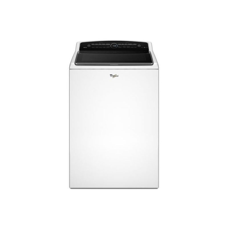 Whirlpool WTW8500D 27 Inch Wide 5.3 Cu. Ft. High-Efficiency Top Load Washer with -  WTW8500DW