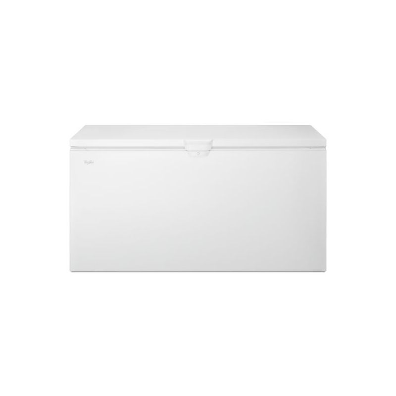 Whirlpool WZC3122D 66 Inch Wide 22 Cu. Ft. Chest Freezer with Easy Clean Corners photo