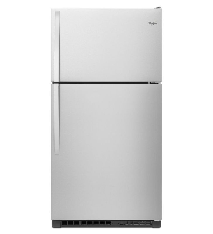 Whirlpool WRT311FZD 33 Inch Wide 20.5 Cu. Ft. Top Freezer Refrigerator with LED photo