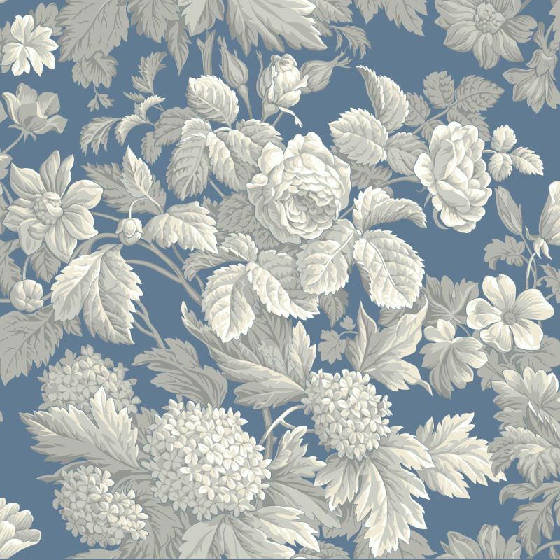 Wallpaper floral house home Wedgewood designs
