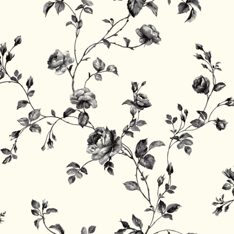 York Wallcoverings KH7082 Rose Toile Wallpaper