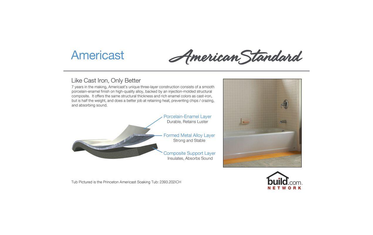 American Standard 2392 202ich 2392 202ich Soaking Bathtub