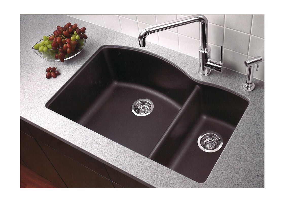 Blanco Silgranit Kitchen Sinks : Blanco 440179 Anthracite Kitchen Sink - Build.com