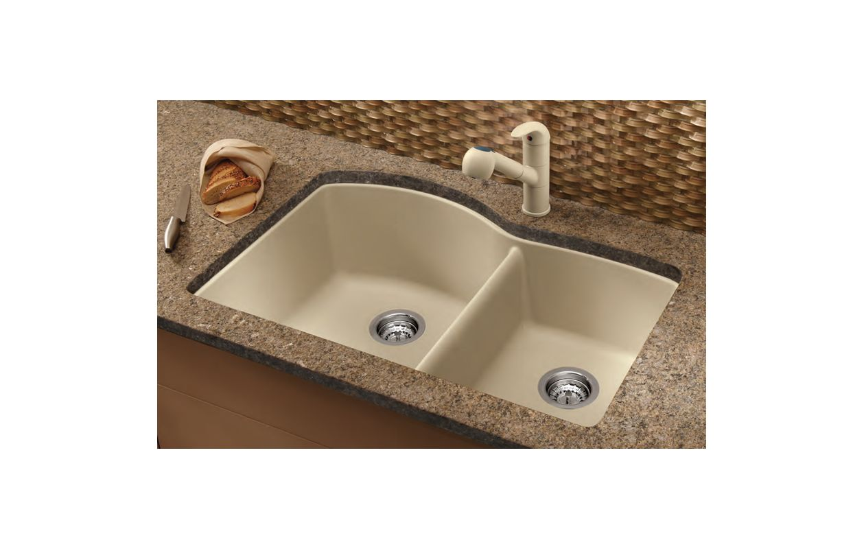 How To Clean A Blanco Composite Granite Sink : Blanco 441222 Kitchen Sink - Build.com