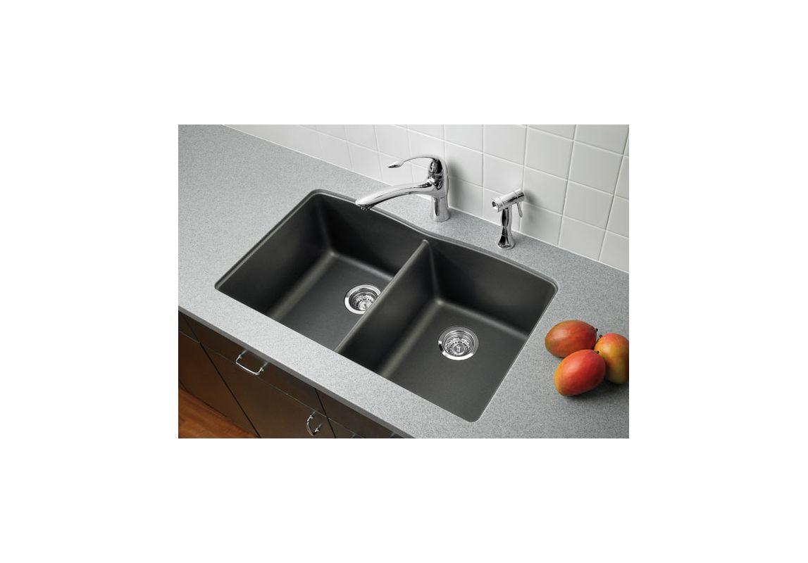 Cinder Blanco Sink : Blanco 441470 Cinder Kitchen Sink - Build.com