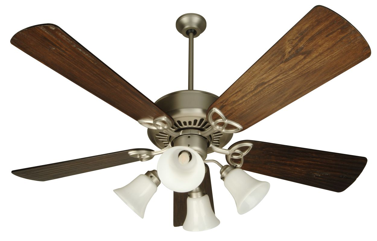 Ceiling fans with uplights : Craftmade sn aw antique white traditional indoor ceiling