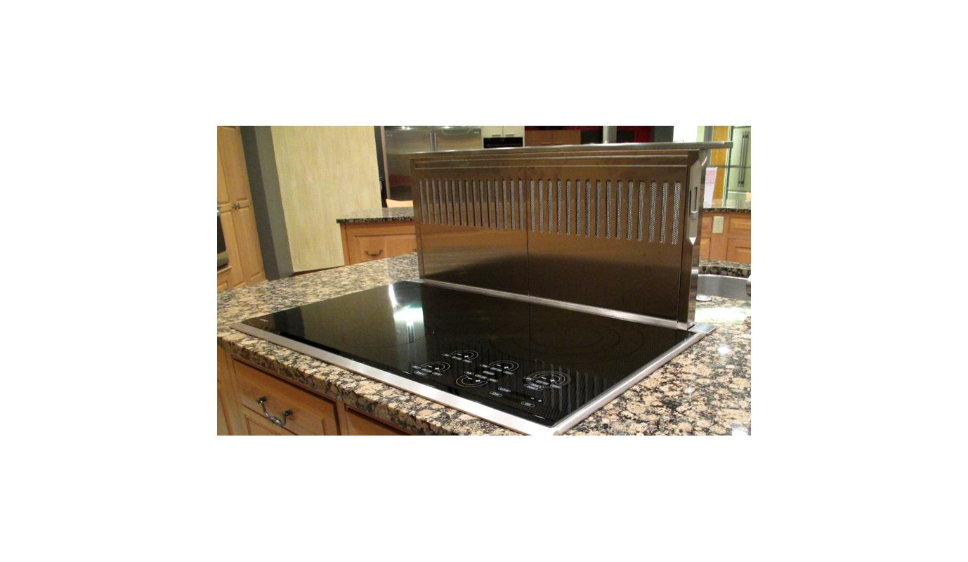 Faber scir3614ss stainless steel 36 inch wide stainless for Down draft range hood