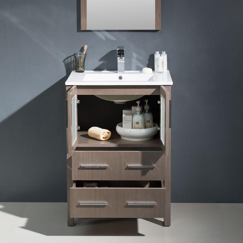 fresca fvn6224 uns bathroom vanity