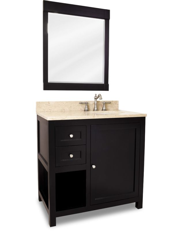Jeffrey alexander van091 36 t bathroom vanity - Jeffrey alexander bathroom vanities ...