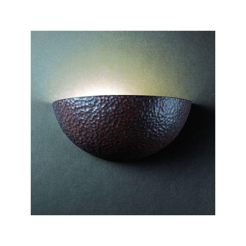 Justice Design Group CER-1300-CKC Celadon Green Crackle Single Light ...