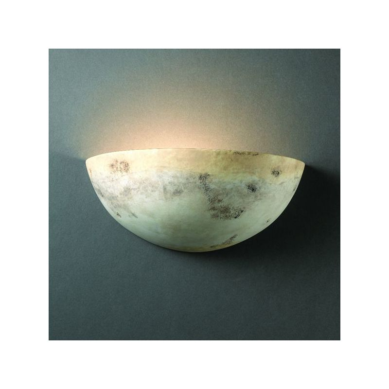 Justice Design Group CER-1300-CKC Celadon Green Crackle Single Light ...