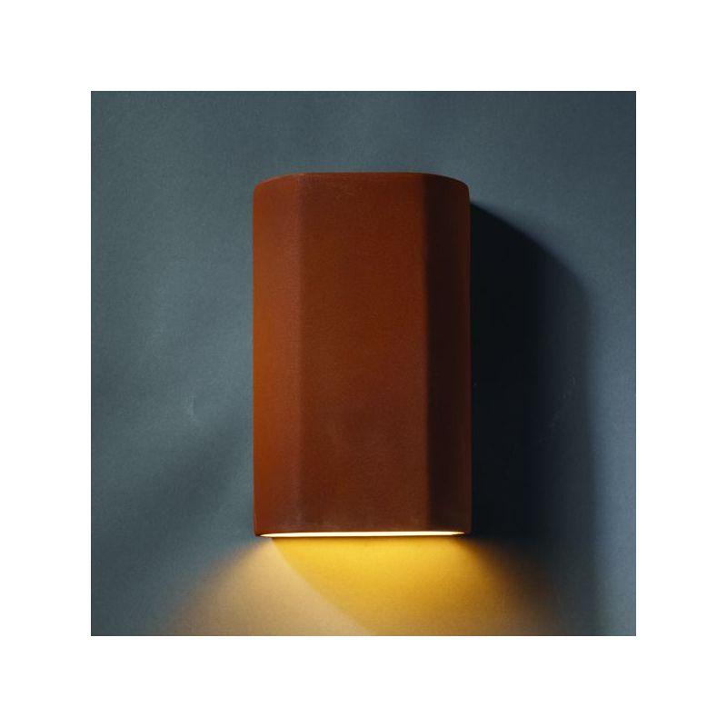 Justice Design Group CER-5500W-CKC Celadon Green Crackle Single Light ...