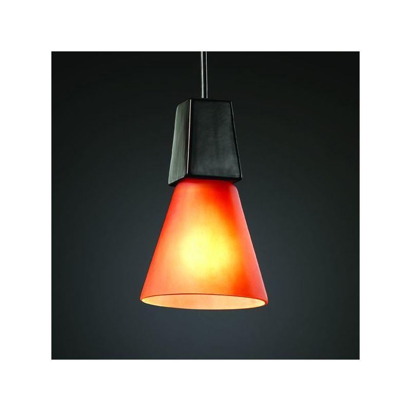 Justice Design Group CER-6010-CKC Celadon Green Crackle Single Light 8 ...