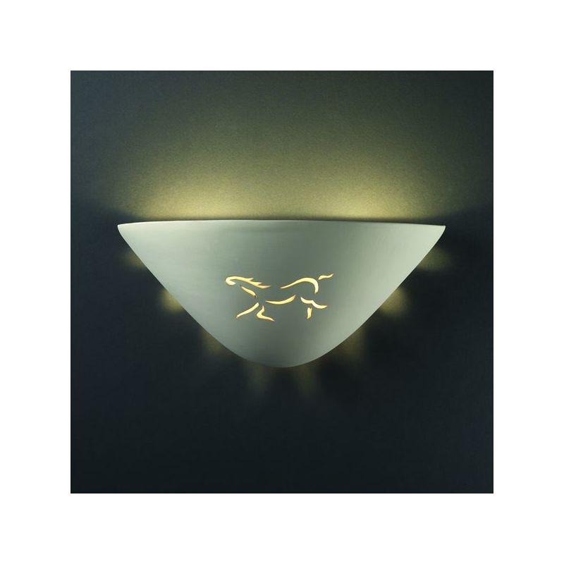 Justice Design Group CER-9035-CKC Celadon Green Crackle Single Light ...