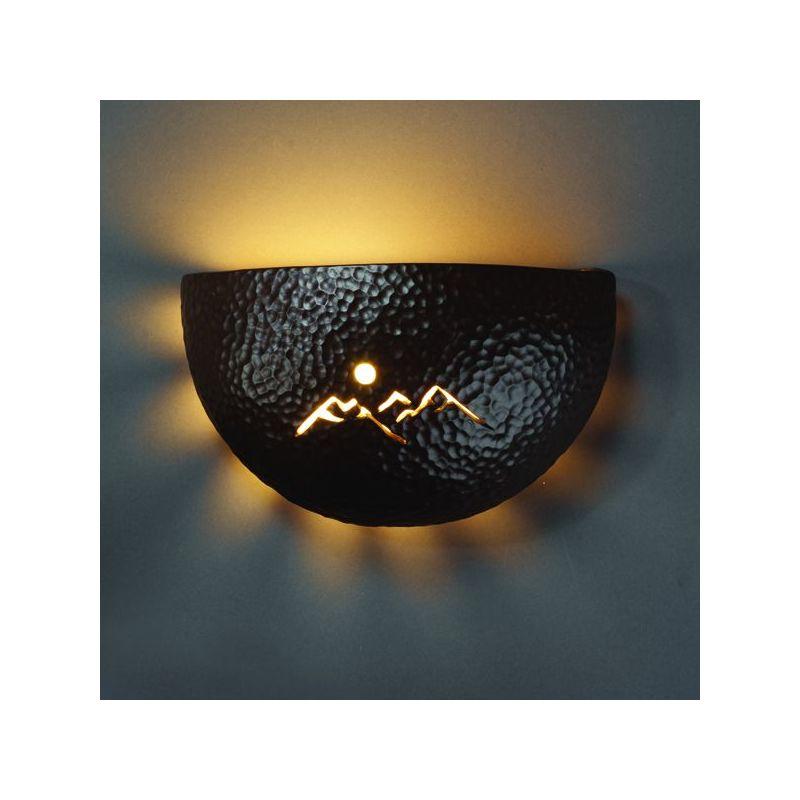 Justice Design Group CER-9050-CKC Celadon Green Crackle Single Light 9 ...