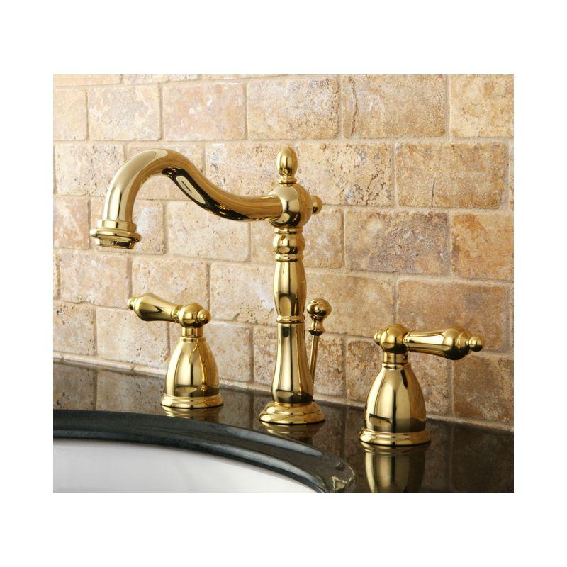 Kingston Brass Kb197 Al Kb197 Al Bathroom Faucet Build Com