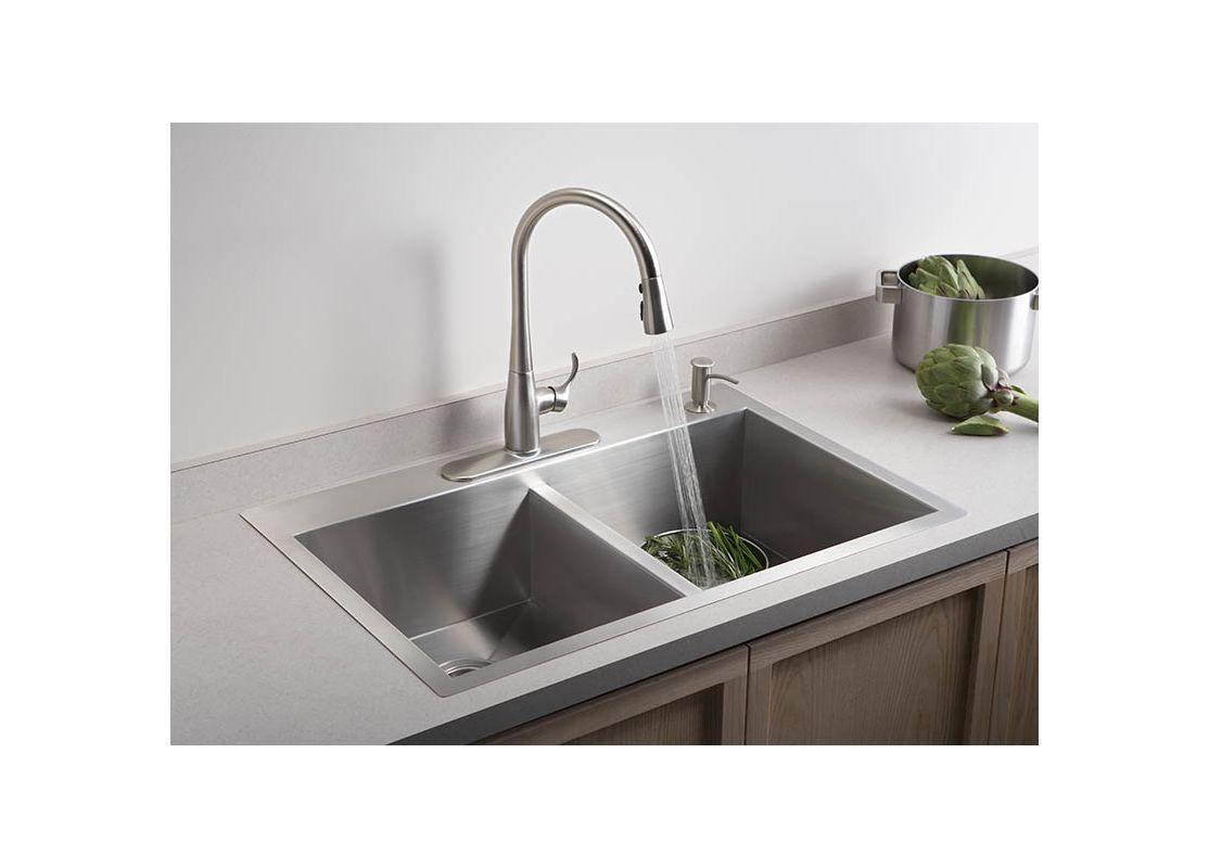 kohler k 3820 4 kitchen sink