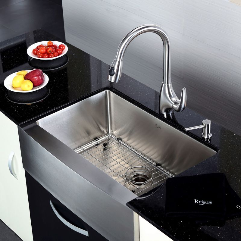 Kraus KHF200-30 Stainless Steel Kitchen Sink - Build.com