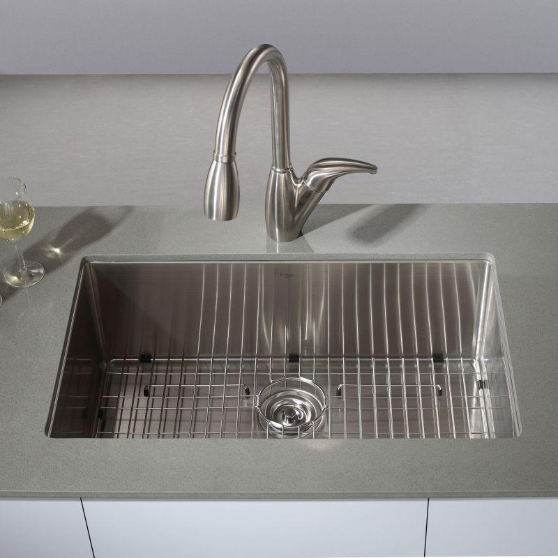 Kraus KHU100-32 Kitchen Sink - Build.com
