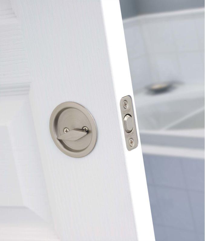 Door Installation Pocket Door Lock Installation