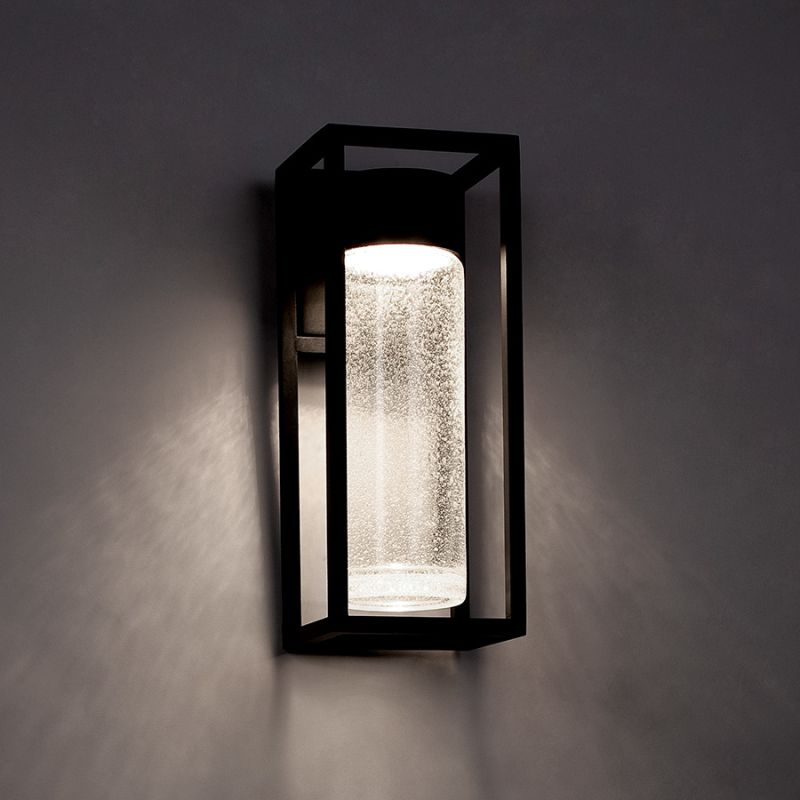Modern Forms WS-W5416-BK Black Outdoor Wall Light