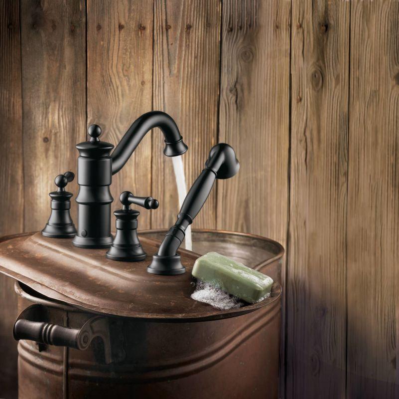 Wrought Iron Bathroom Faucets: Moen TS213 Roman Tub Faucet