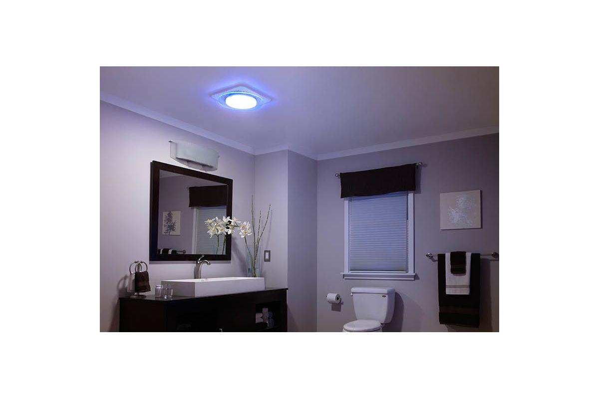 NuTone QTNLEDB Bathroom Fan
