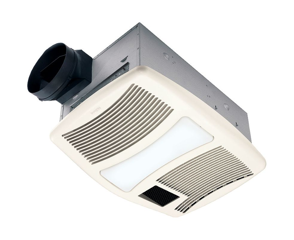 Nutone qtxn110hl bathroom fan for Part f bathroom fan