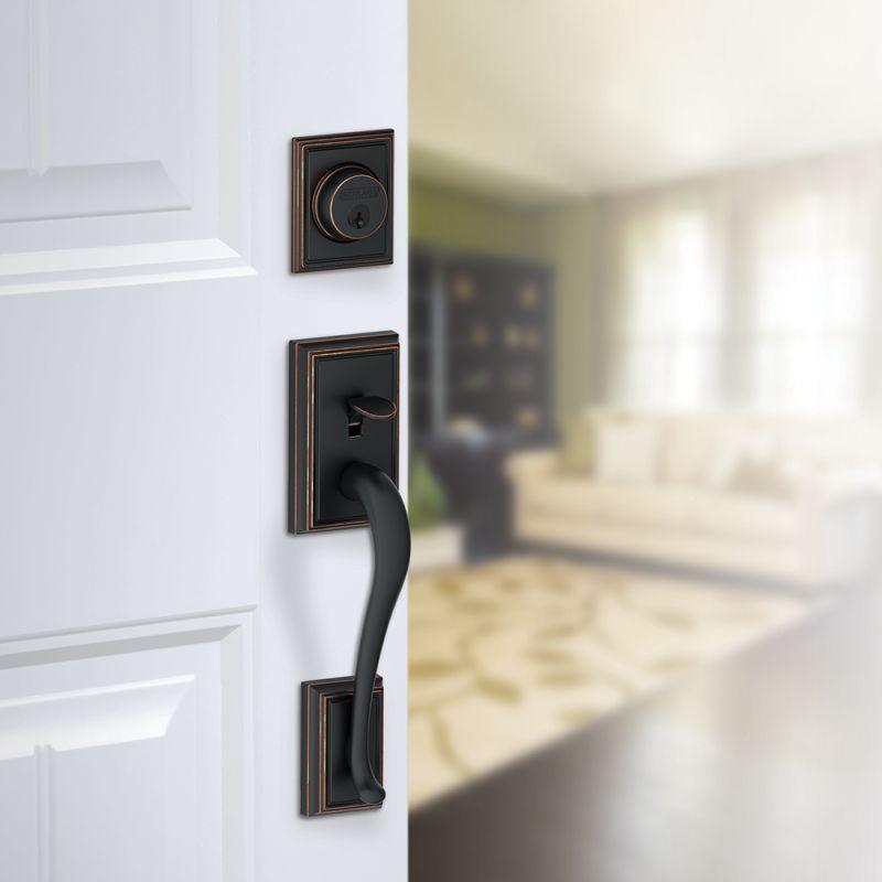 Schlage F58 Add Front Door Handleset Build Com
