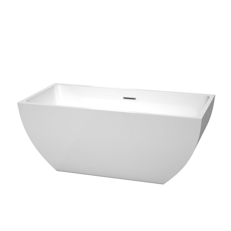 Wyndham Collection WCBTK150559 Soaking Bathtub