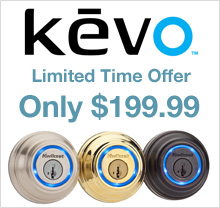 Kwikset Kevo $199.99 for a limited time!
