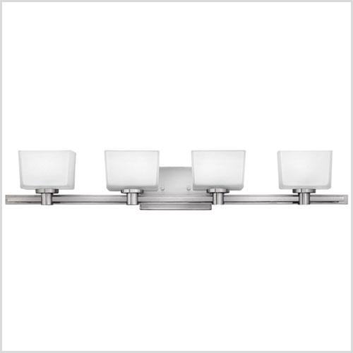 Bathroom Light Fixtures Brushed Nickel 48 Inches bathroom lighting & vanity lights | build