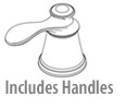 Includes handles