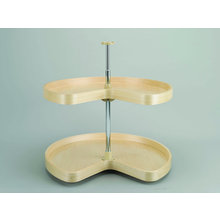 2 Shelf Lazy Susan
