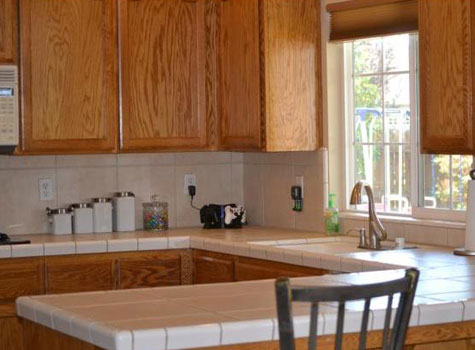 Before and after kitchen remodel on a budget for Kitchen remodels on a budget photos