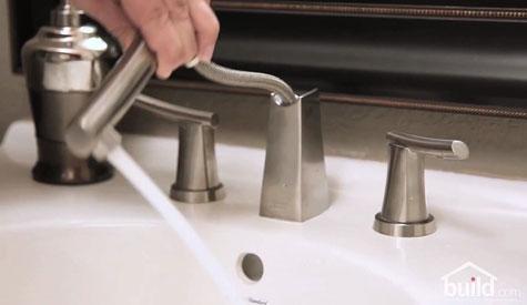Pullout Bathroom Faucet