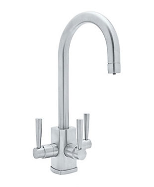 Triple Sink Faucet : Triple Handle Kitchen Faucet
