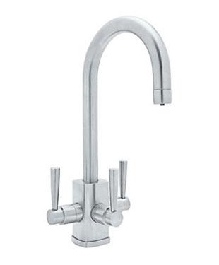 Triple Sink Faucet : Triple Handle Kitchen Faucet