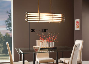Pendant Lights Over Dining Table Height Quotes