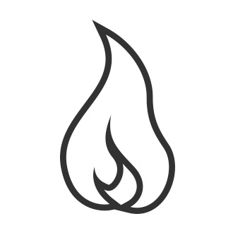 Gas Cooktop Icon