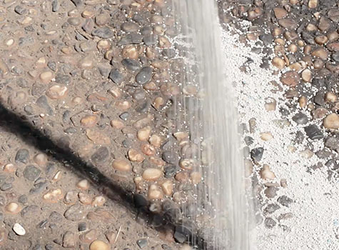 how to get oil spots out of concrete
