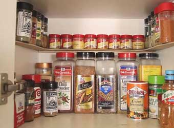 how to make a spice rack step by step