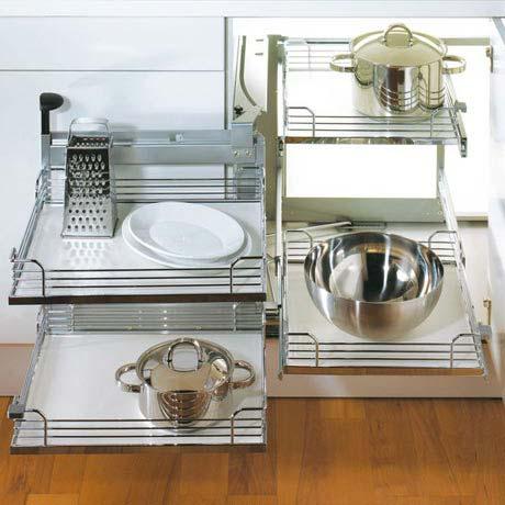 Corner cabinet organization tips and ideas for Corner cupboard kitchen storage ideas