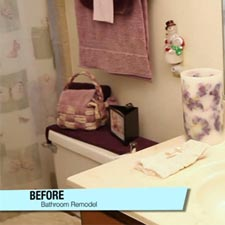 Before & After: 1970's Bathroom Update