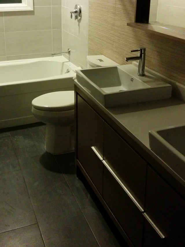 Modern Bathroom from Our Customer Danny