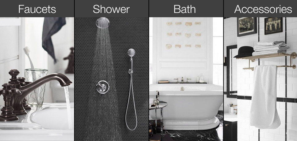 Kohler Artifacts Collection product categories