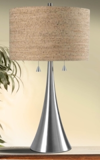 Bulletin 2 Light Table Lamp